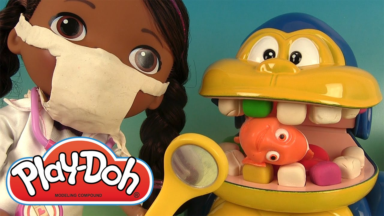 p te modeler dentiste singe docteur la peluche mashems play doh dentist youtube. Black Bedroom Furniture Sets. Home Design Ideas