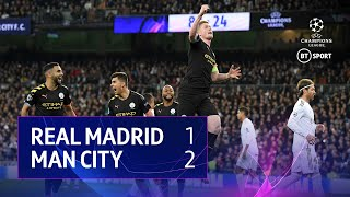 Real Madrid vs Manchester City (1-2) | UEFA Champions League Highlights