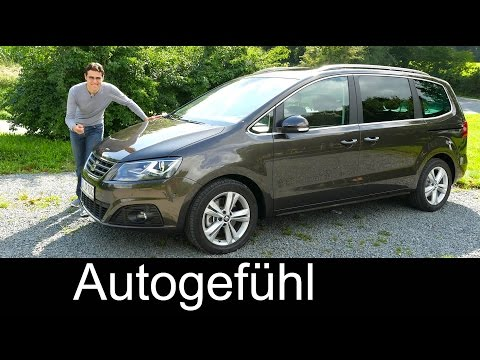 Seat Alhambra Facelift FULL REVIEW test driven 2016 – Autogefühl