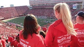 Exchange Student Vlog #6 : The Nebraska Husker Football Game With Ef!