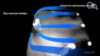 видео Очиститель воздуха Sharp KC-D41RW
