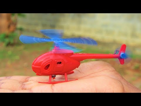 How To Make Helicopter - Mini Helicopter