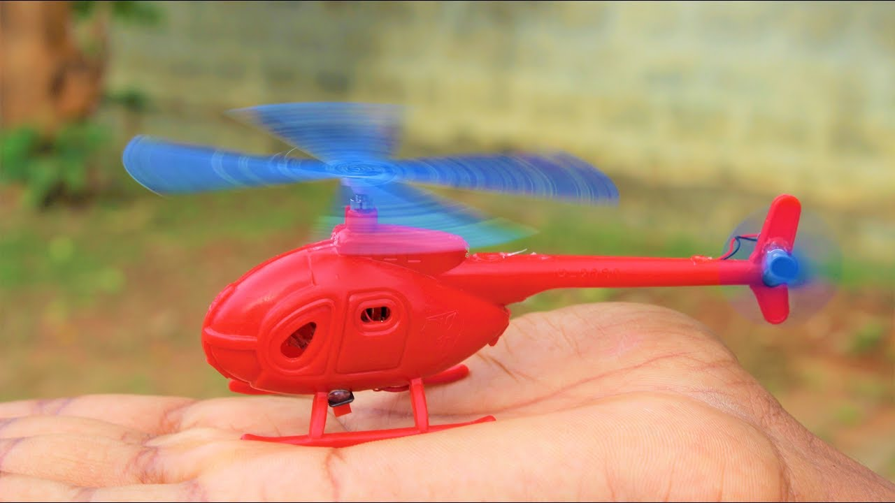 How to make a Small Helicopter