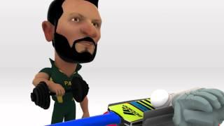 Pakistan vs UAE Cricket World Cup 2015 | Snacky Animation