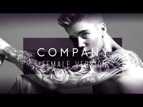 Justin Bieber  Company  Female Version