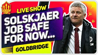 SOLSKJAER Safe! For Now.... Man United News Now