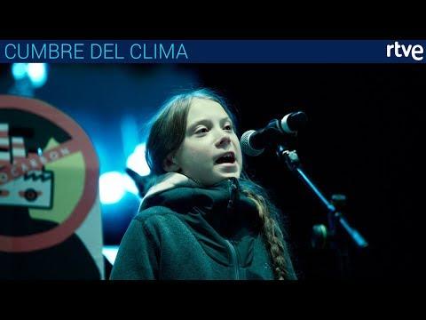 DISCURSO DE GRETA THUNBERG | Manifestación por el Clima de Madrid