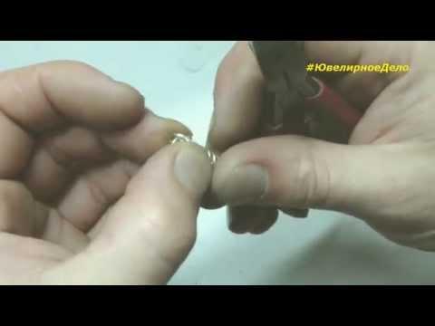 Как сделать серебрянный браслет питон, американка, венеция, видеообзор