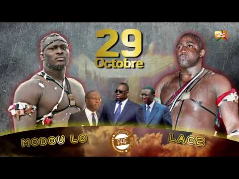MODOU LO VS LAC DE GUIERS 2 : THE REMAKE LE 29 OCTOBRE 2017 AU STADE DEMBA DIOP