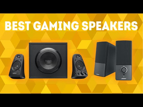 Best Gaming Speakers 2020 [WINNERS] – Buyer's Guide and PC Speaker Reviews