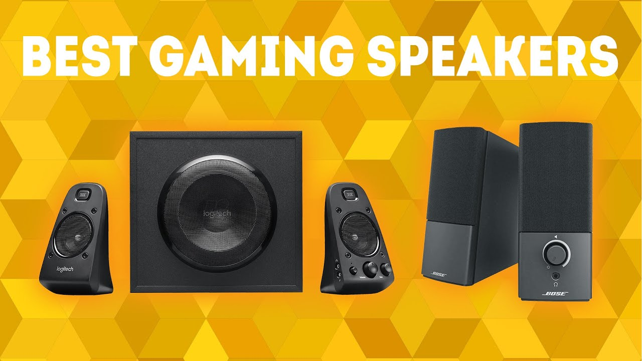 Best Gaming Speakers 2019 Best Gaming Speakers 2019 [WINNERS] – Buyer's Guide and PC Speaker