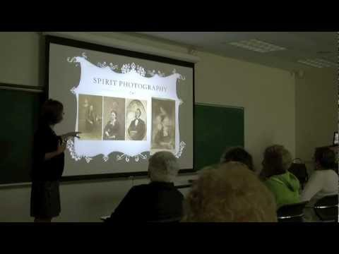 """Reunion Weekend 2012 Lecture - """"A Haunted Culture:Why Victorians Loved Ghost Stories"""