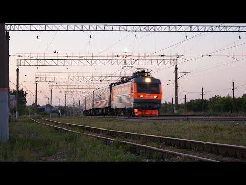 ЧС2К-932 с фирменным поездом Саранск - Москва