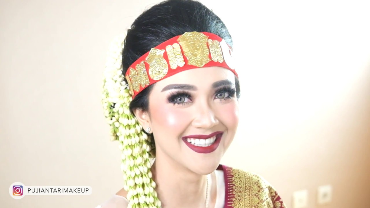 Tutorial Wedding Pengantin Batak Toba Puji Antari Makeup Youtube