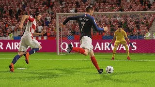 Francia vs Croacia | Copa Mundial Rusia 2018 de FIFA, Final | FIFA Simulacion