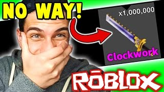Roblox Adventures - Murder Mystery 2 - UNBELIEVABLE GODLY KNIFE UNBOXINGS!