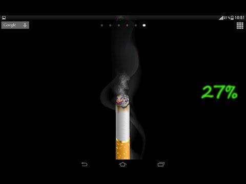 Дымящаяся сигарета, сигара.