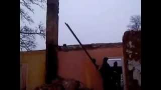 Ekipa remontowa jak sie rozbiera komin