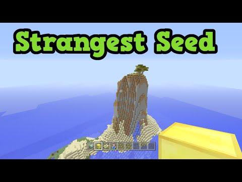 Minecraft Xbox 360 / PS3 - STRANGEST SEED (Diamonds, Monument)