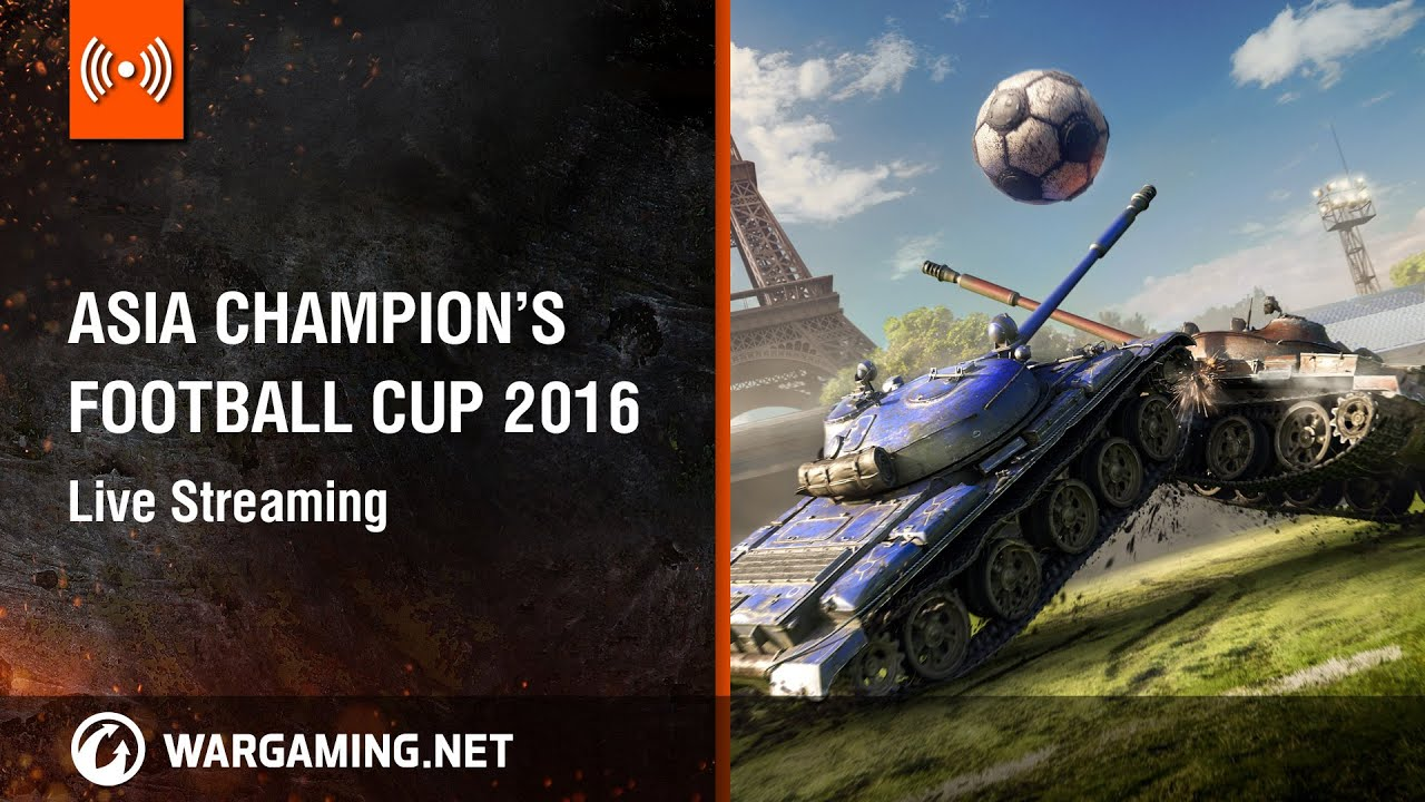 [TW] World of Tanks Asia Champions' Football Cup Top 4 Finals Live Streaming