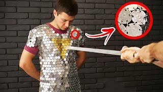 How to Make Durable Chain Mail from Coins