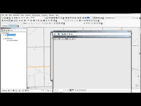 Creating / Editing Shapefiles in ArcGIS 10.1 (1 of 2)