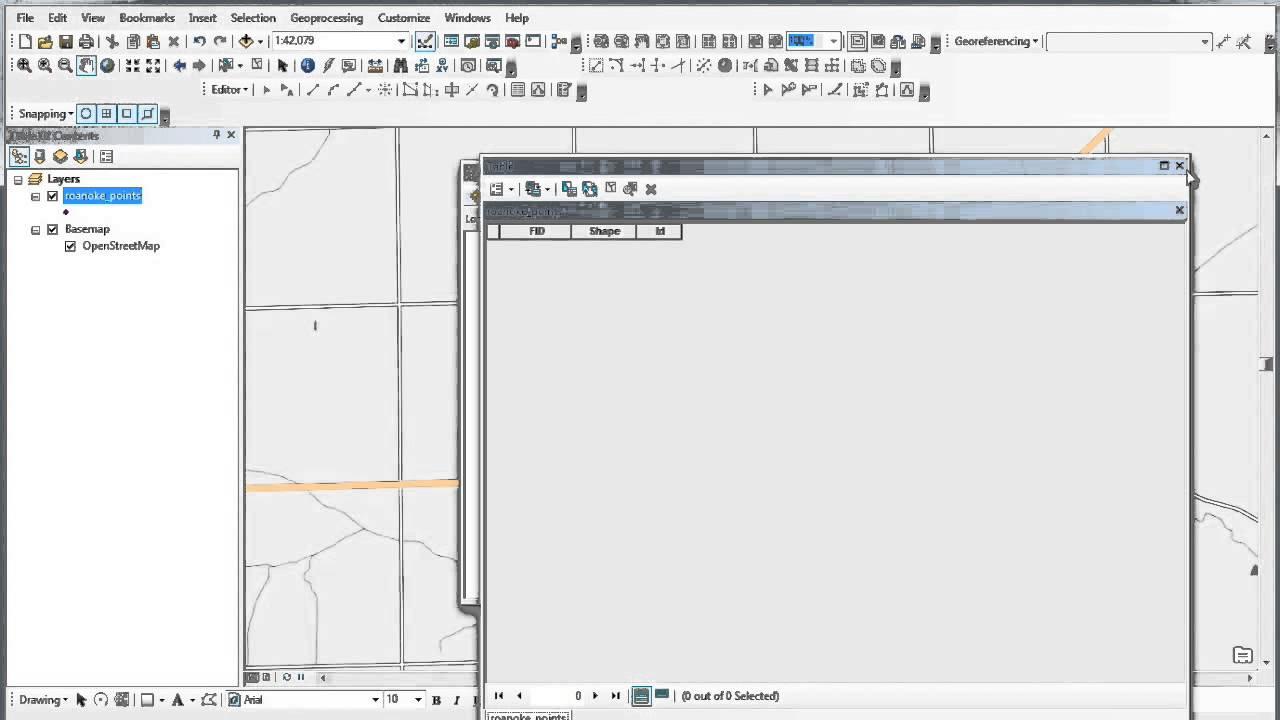 Creating / Editing Shapefiles in ArcGIS Desktop (1 of 2)