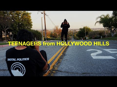 TEENAGERS from HOLLYWOOD HILLS