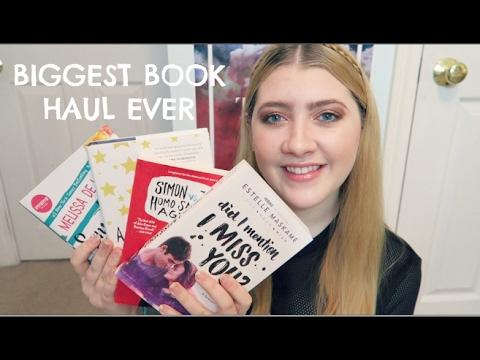 BIGGEST BOOK HAUL EVER (part 2)