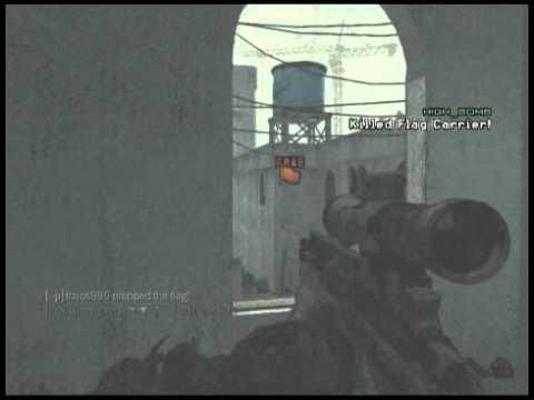 MW3 - Wall Bang Kill