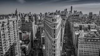 NYC Night 4K Drone Video