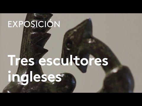 Tres escultores ingleses