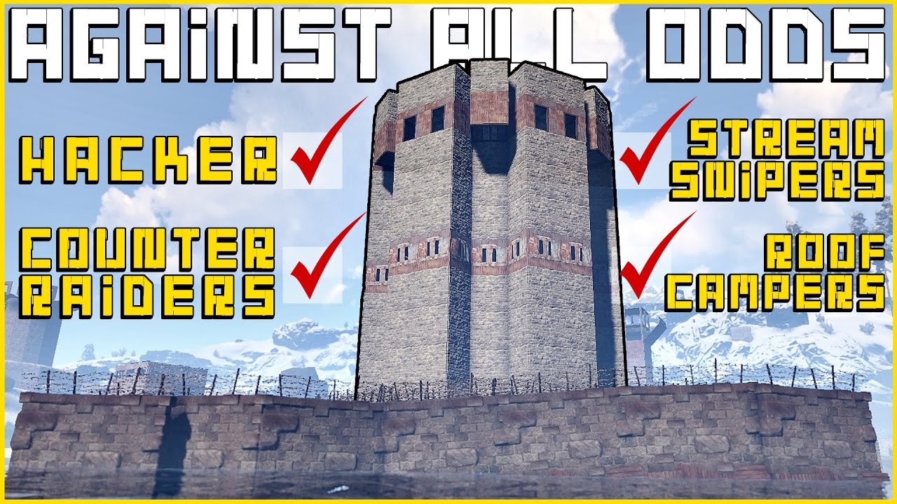 The Hardest Rust Raid You Will Witness Rust Raids Doovi