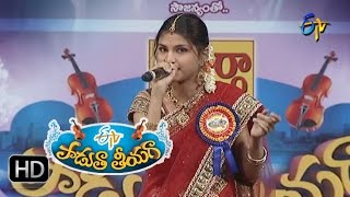 Manasa Thulli padake Song - Akhila Performance in ETV Padutha Theeyaga - 18th July 2016