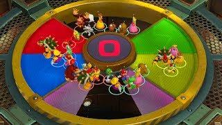 Super Mario Party Minigames - Mario vs Bowser vs Peach vs Yoshi