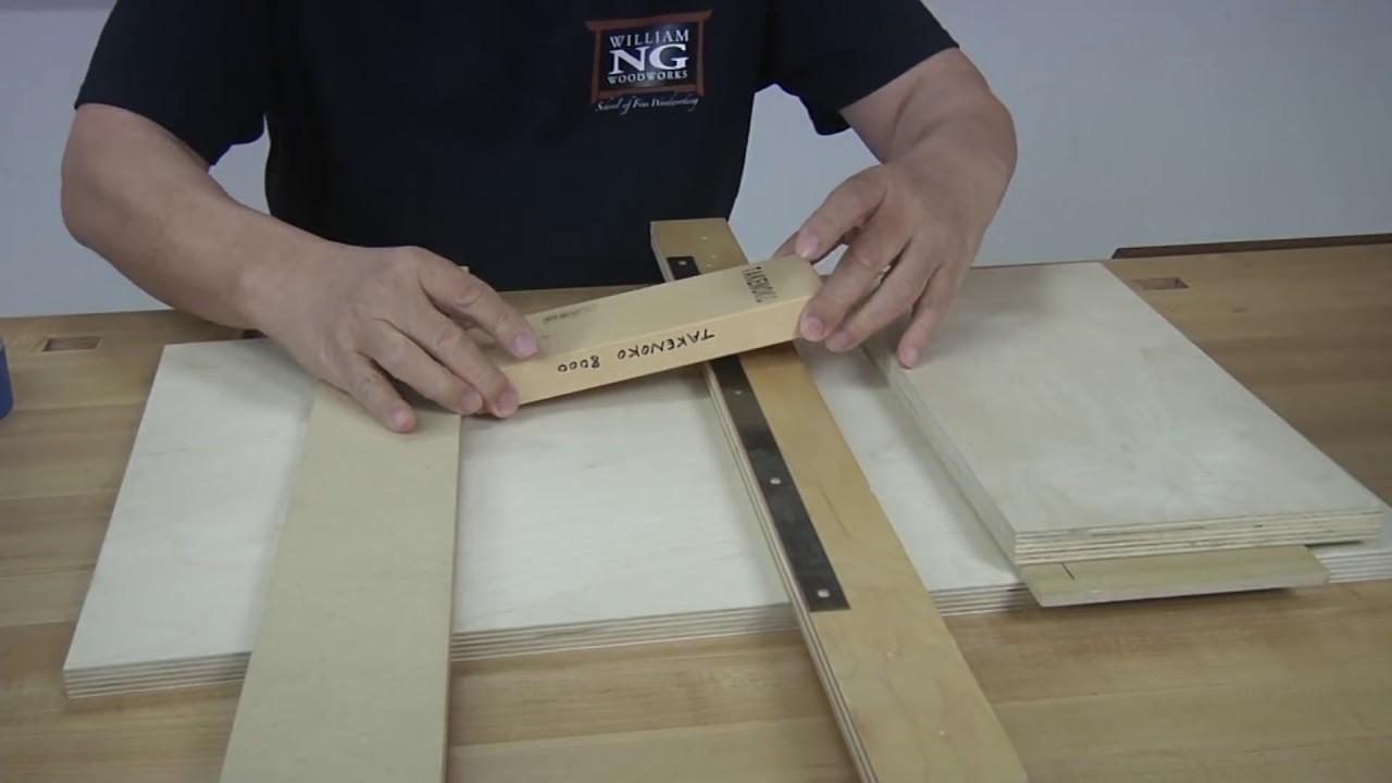 Jointer Blade Sharpening