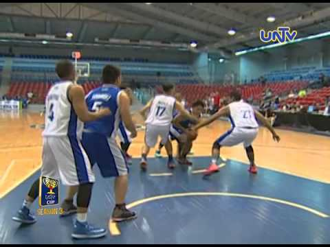 UNTV Cup 3: Cebu Congressman Gullas breaches PNP's defense