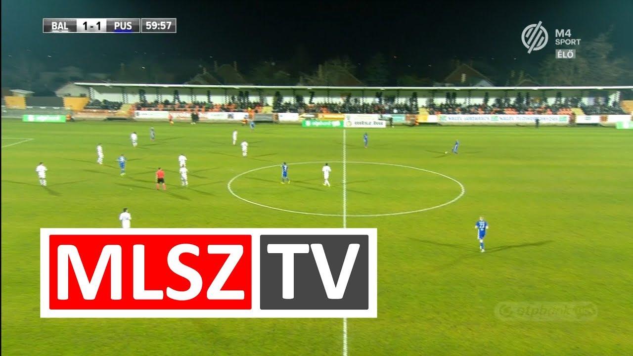 Balmaz Kamilla Gyógyfürdő - Puskás Akadémia FC | 2-2 | OTP Bank Liga | 17. forduló | MLSZTV