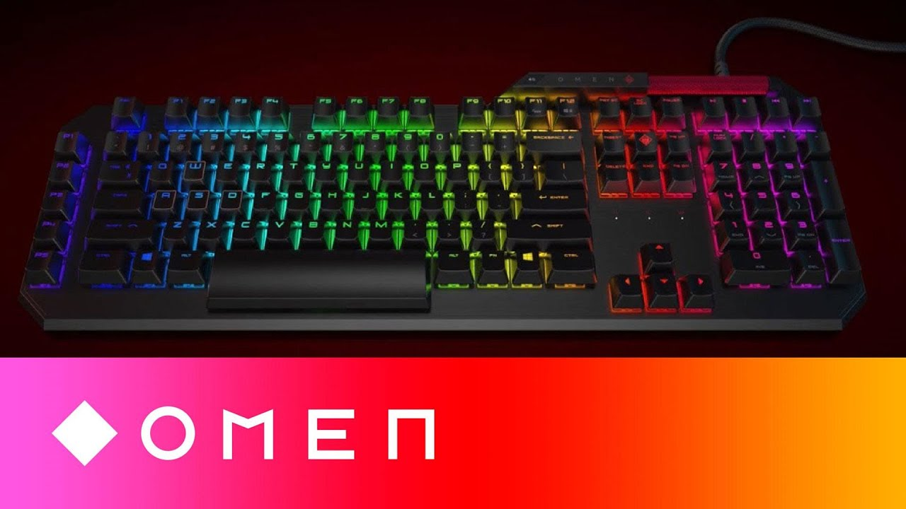 OMEN Sequencer | 10x Faster, Optical-Mechanical Gaming Keyboard