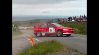 2012 Manx Telecom Rally - Isle of Man SS17 Druidale