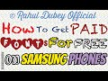 How to get PAID Samsung Galaxy  Fonts for FREE