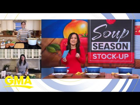 GMA Recommends The Most Sensational Soups For National Soup Month | GMA