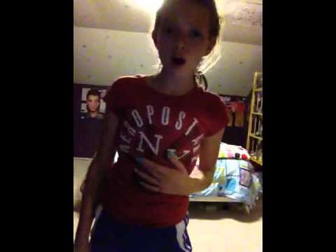Natalee French singing never say never