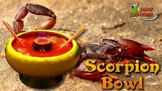 Scorpion Bowl Cocktail