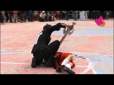Sword Battle Cosplay Perform (Male vs female Swordsman) [2011]