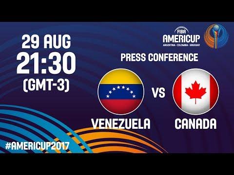 Venezuela v Canada - Press Conference