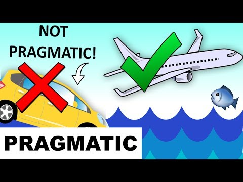 Learn English Words - PRAGMATIC - Meaning, Vocabulary Lesson with Pictures and Examples