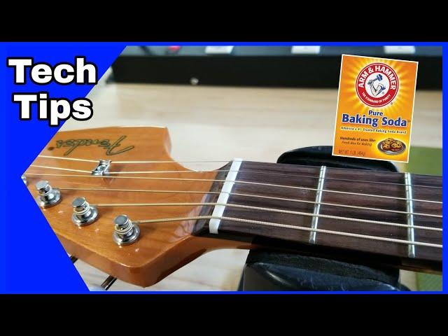 Fix Your Guitar Nut With Baking Soda