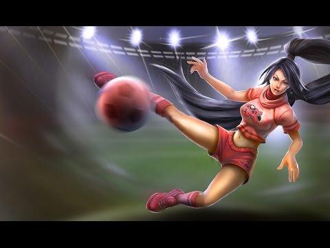Akali skin All-star - League of Legends