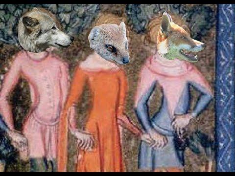 J&39;ai vu le loup le renard et la belette - chanté par Anna - avec paroles